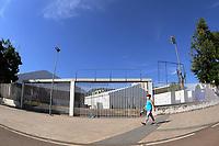 Rio de Janeiro (RJ), 15/04/2020 - Covid-19-Rio -  Hospital Campanha RJ - Decimo sexto dia de montagem do Hospital de campanha no Maracana para tratar pacientes de coronavirus. Os 400 leitos serao erguidos no espaco onde ficava o estadio de Atletismo Celio de Barros.,zona norte do Rio de Janeiro, nesta quarta-feira (15) (Foto: Alexandre Durao/Codigo 19/Codigo 19)