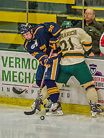 29 December 2013:  Canisius College Golden Griffins forward Patrick Sullivan, a Senior from Derby, NY, in action during the third period against the University of Vermont Catamounts at Gutterson Fieldhouse in Burlington, Vermont. The Catamounts defeated the Golden Griffins 6-2 in the 2013 Sheraton/TD Bank Catamount Cup NCAA Hockey Tournament. Mandatory Credit: Ed Wolfstein Photo *** RAW (NEF) Image File Available ***