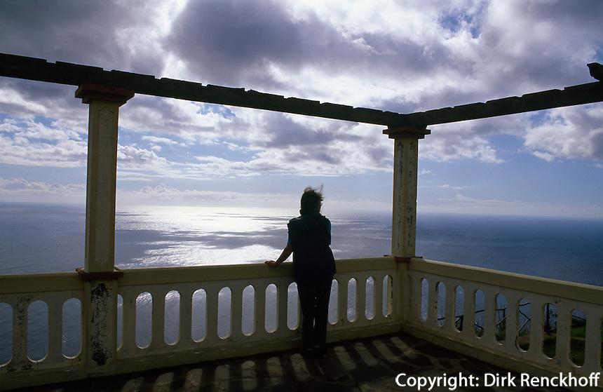 Portugal, Madeira, Kueste bei Ponta do Pargo an der Westspitze Madeiras