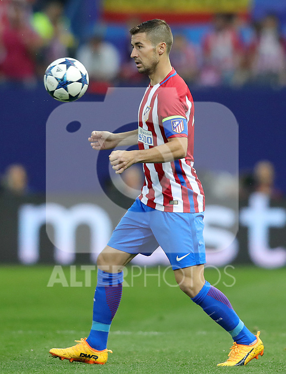 Atletico de Madrid's Gabi Fernandez during Champions League 2016/2017 Quarter-finals 1st leg match. April 12,2017. (ALTERPHOTOS/Acero)