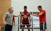 Pictured: Jordi Amat. Thursday 03 July 2014<br />