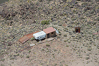 Camper, with addition. Taos County, New Mexico