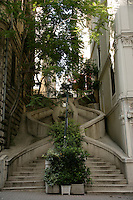 Kamondo staircase, Galata, Istanbul, Turkey