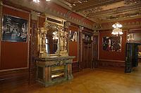 Europe/Pologne/Lodz: Musée d'Art Cinématographique situé dans le Palais de l'industriel Charles Scheibler - la salle à manger