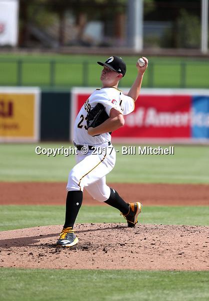 Mitch Keller - Glendale Desert Dogs - 2017 Arizona Fall League (Bill Mitchell)