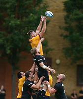 Thursday 9th September 20218 <br /> <br /> Alan O'Connor during the pre-season friendly between Saracens and Ulster Rugby at the Honourable Artillery Company Grounds, Armoury House, London, England. Photo by John Dickson/Dicksondigital