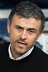 Coach Luis Enrique Martinez Garcia of FC Barcelona prior to the La Liga match between Atletico de Madrid and FC Barcelona at the Santiago Bernabeu Stadium on 26 February 2017 in Madrid, Spain. Photo by Diego Gonzalez Souto / Power Sport Images