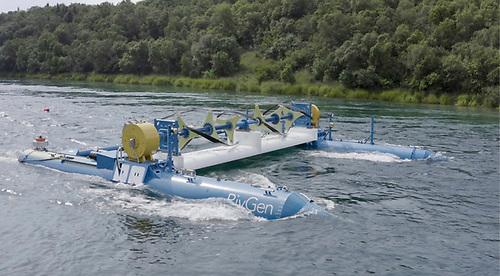 RivGen Power System in 2019 at Igiugig, Alaska