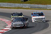NASCAR Camping World Truck Series<br /> Chevrolet Silverado 250<br /> Canadian Tire Motorsport Park<br /> Bowmanville, ON CAN<br /> Sunday 3 September 2017<br /> Christopher Bell, Toyota Tundra, John Hunter Nemechek, Fire Alarm Services, Inc. Chevrolet Silverado and Justin Haley, Chevrolet Silverado<br /> World Copyright: Russell LaBounty<br /> LAT Images