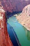 Lake Powell winds its way through Glen Canyon