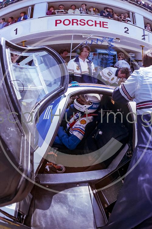 Jochen Mass (DEU), PORSCHE 956 #2, 24 HEURES DU MANS 1983