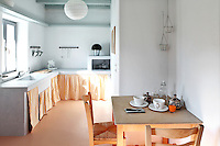 cycladic kitchen