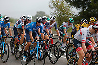 29th August 2020, Nice, France;  NAESEN Oliver (BEL) of AG2R LA MONDIALE and THEUNS Edward (BEL) of TREK - SEGAFREDO during stage 1 of the 107th edition of the 2020 Tour de France cycling race, a stage of 156 kms with start in Nice Moyen Pays and finish in Nice