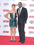 """Allison Holker and Twitch attends The Premiere Of Marvel's """"Ant-Man"""" held at The Dolby Theatre  in Hollywood, California on June 29,2015                                                                               © 2015 Hollywood Press Agency"""