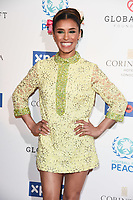Melody Thornton<br /> arriving for the Football for Peace initiative dinner by Global Gift Foundation at the Corinthia Hotel, London<br /> <br /> ©Ash Knotek  D3493  08/04/2019