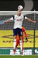 26th October 2020, Turf Moor, Burnley UK; EPL Premier League football, Burnley v Tottenham Hotspur; Tottenham Hotspur midfielder Eric Dier (15) wins a clearing header