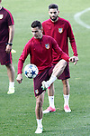 Atletico de Madrid's Lucas Hernandez (l) and Yannick Ferreira Carrasco during training session. May 9,2017.(ALTERPHOTOS/Acero)