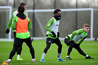 Nathan Dyer of Swansea City during the Swansea City Training at The Fairwood Training Ground in Swansea, Wales, UK.  Wednesday 08 January 2020