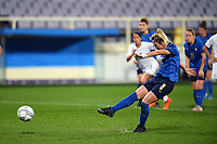 Martina Rosucci  of Italy scores a goal during the Women s EURO 2022 qualifying football match between Italy and Israel at stadio Carlo Castellani in Empoli (Italy), February, 24th, 2021. Photo Image Sport / Insidefoto