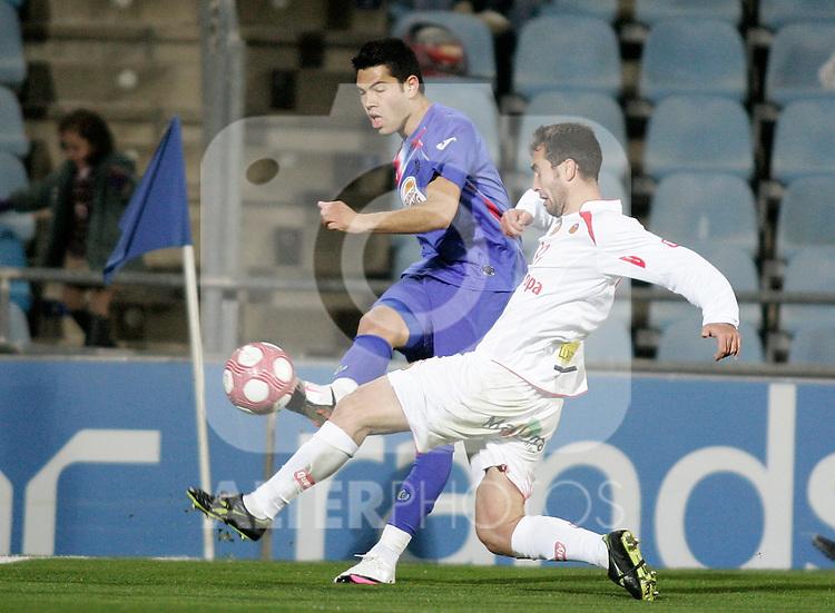 Getafe's Miku during La Liga match. March 11, 2010. (ALTERPHOTOS/Alvaro Hernandez)