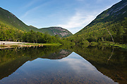 Mount Willard from near the Willey House Historical Site in Hart's Location, New Hampshire. The Willey Historical site is within Crawford Notch State Park.
