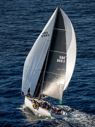 The British yacht Sunrise, winner of the 2021 Rolex Fastnet Race, sits atop the standings of the Middle Sea Race