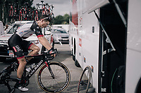 Ben Swift (GBR/UAE-Emirates) warming down after the stage<br /> <br /> 104th Tour de France 2017<br /> Stage 10 - Périgueux › Bergerac (178km)