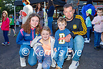 The O'Sullivan family from Currow attending the Kerry Mental Health and Wellbeing FEST Wellness  at An Riocht in Castleisland on Sunday. L to r: Amy, Shanna, Darragh and Kevin O'Sullivan.