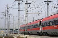 - Treviglio (Brescia), viaggio di prova sulla nuova linea Alta Velocità/Alta Capacità Treviglio-Brescia, parte integrante del Corridoio Europeo TENT-T <br /> <br /> <br /> <br /> - Treviglio (Brescia), test ride on the new line High Speed / High Capacity Treviglio-Brescia, an integral part of the European Corridor TENT-T