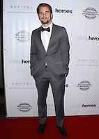 LOS ANGELES, CA, USA - NOVEMBER 08: Luke Benward arrives at the Unlikely Heroes' 3rd Annual Awards Dinner And Gala held at the Sofitel Hotel on November 8, 2014 in Los Angeles, California, United States. (Photo by Celebrity Monitor)