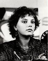 Montreal (Qc) CANADA - 1985 File Photo -anne Letourneau<br /> <br /> <br /> PHOTO :  Agence Quebec Presse