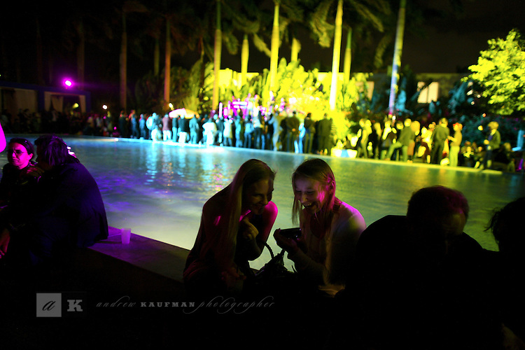 Farewell party at Shoreclub, Miami Beach.....Art Basel invades Miami every year in December. This is it's fifth year in South Florida. Galleries from all around the world come to Miami to show their latest works. Over $100 million worth of art was sold during the week of December 7-10.
