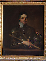 In an upstairs hallway, a portrait of Thomas Wentworth, Earl of Strafford.K.G who was beheaded by the Parliamentarians when Charles I signed his death warrant in 1641