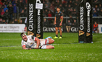 Friday 1st November 2019 | Ulster Rugby vs Zebre Rugby<br /> <br /> Rob Herring during the PRO14 Round 5 clash between Ulster Rugby and Zebre Rugby at Kingspan Stadium, Ravenhill Park, Belfast, Northern Ireland. Photo by John Dickson / DICKSONDIGITAL