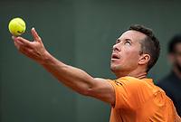 Paris, France, 26 May, 2019, Tennis, French Open, Roland Garros, Philip Kohlschreiber (GER)<br /> Photo: Henk Koster/tennisimages.com