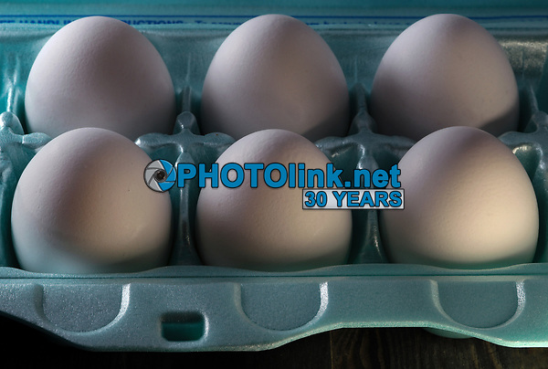 Six Eggs<br /> Photo By Adam Scull/PHOTOlink.net