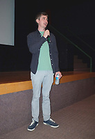 Montreal (Qc) CANADA - August 4 , 2011 - Fantasia Film Festival , Chris Sivertson, director (L) introduce his movie BRAWLER