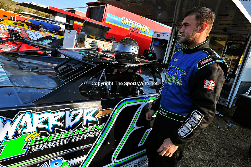 Feb 11, 2011; 4:56:46 PM; Gibsonton, FL., USA; The Lucas Oil Dirt Late Model Racing Series running The 35th annual Dart WinterNationals at East Bay Raceway Park.  Mandatory Credit: (thesportswire.net)