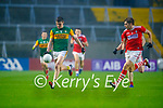 Seán O'Shea, Kerry in action against Ian MaGuire, Cork, during the Munster GAA Football Senior Championship Semi-Final match between Cork and Kerry at Páirc Uí Chaoimh in Cork.