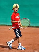 2013-08-17, Netherlands, Raalte,  TV Ramele, Tennis, NRTK 2013, National Ranking Tennis Champ, Noah Gabriel <br /> <br /> Photo: Henk Koster