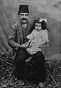 Turkey 1911? .The little Ruchen Bedir Khan in Kayseri  .Turquie 1911?.La petitte Ruchen Bedir Khan a Kayseri