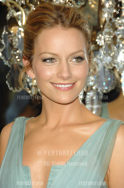 Becki Newton at the 9th Annual Costume Designers Guild Awards Gala at the Beverly Wilshire Hotel..February 18, 2007  Beverly Hills, CA.Picture: Paul Smith / Featureflash