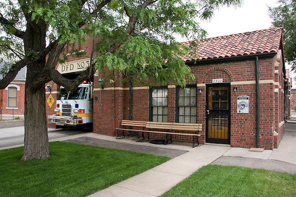 Denver Firehouse 3, Denver, Colorado, USA John offers private photo tours of Denver, Boulder and Rocky Mountain National Park.