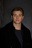 General Hospital's Chad Duell came into New York City to see Broadway's Rocky on April 25, 2014 and then went backstage to meet the actors. Photos were taken backstage and on  (Photo by Sue Coflin/Max Photos)