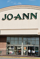 Joanne Fabric store exterior, Mount Laural, New Jersey, USA