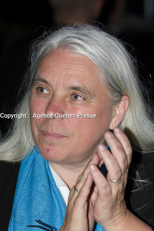 Manon Masse<br /> <br />  au Gala Phenicia de la Chambre de Commerce LGBT du Québec, tenu au Parquet de la Caisse de Depots et Placements du Quebec, jeudi, 26 mai 2016.<br /> <br /> <br /> PHOTO : Pierre Roussel -  Agence Quebec Presse
