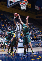 Birttany Boyd of California shoots for the basket against Oregon at Haas Pavilion in Berkeley, California on January 5th, 2014. California defeated Oregon