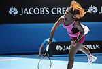Serena Williams (USA) defeats Vesna Dolonc (SRB) 6-1, 6-2 at the Australian Open in Melbourne, Australia on January15, 2014