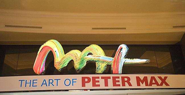 Peter Max, Caesars Forum, Las Vegas, Nevada