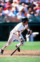SAN FRANCISCO, CA - Armando Rios of the San Francisco Giants in action during a game at Candlestick Park in San Francisco, California in 1999. Photo by Brad Mangin